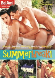 Summer Break 1 gay porn DVD from Bel Ami