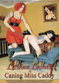 Lesbian Lashes & Caning Miss Candy image