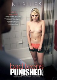 Bad Teens Punished Vol. 5 DVD porn movie from Nubiles.