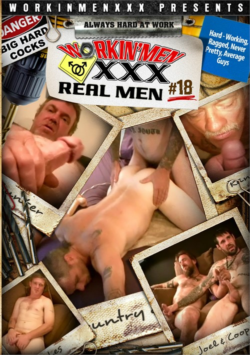 Real Men 18 Boxcover