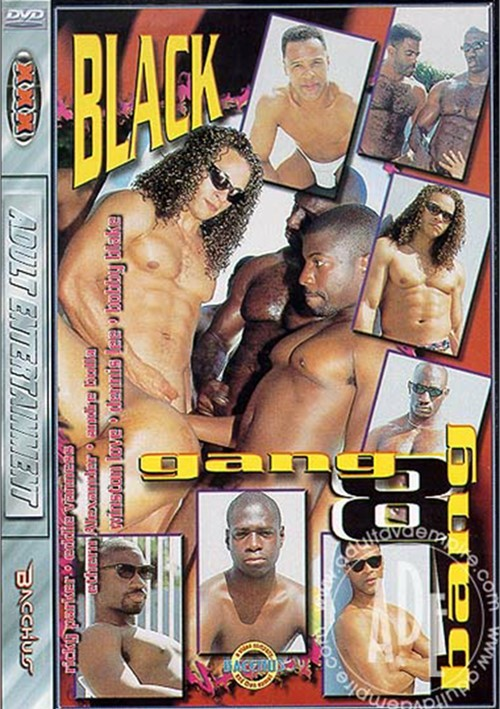 Black Gang Bang #8 Boxcover