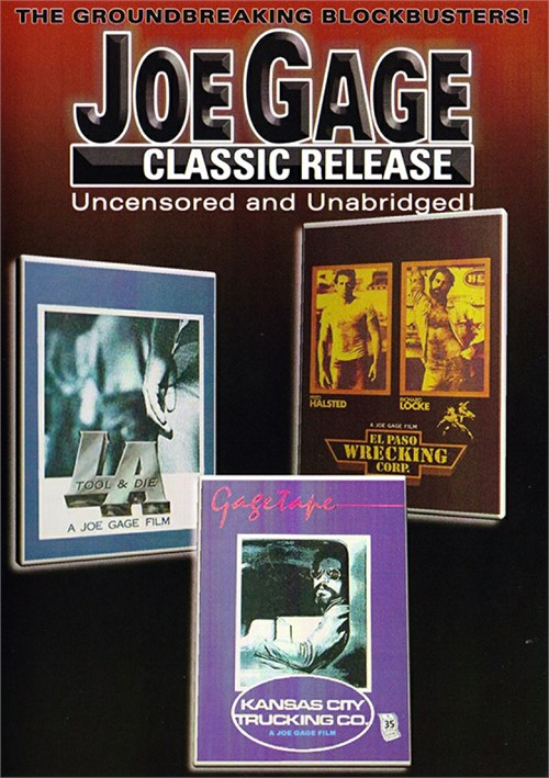 Joe Gage Classic Release Boxcover
