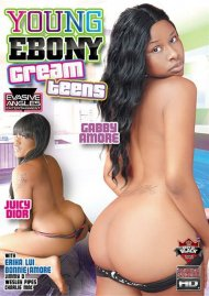 Young Ebony Teen Creams Porn Video