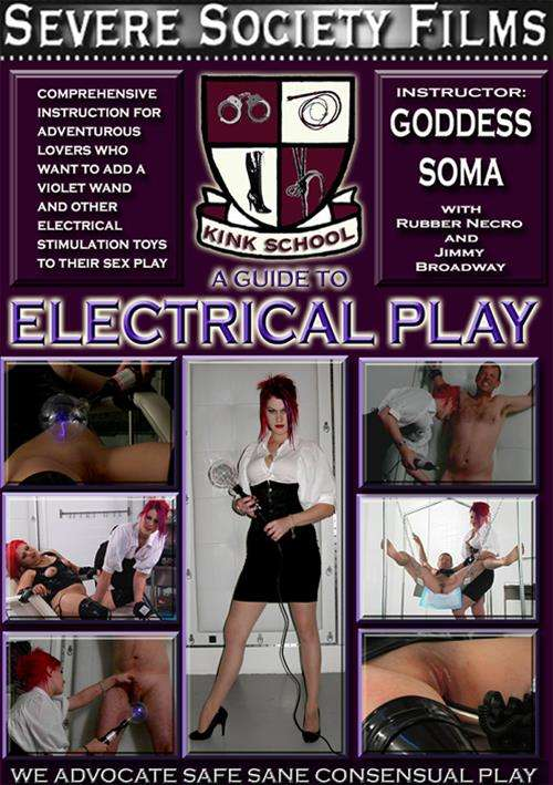 Kink School: A Guide To Electrical Play Boxcover