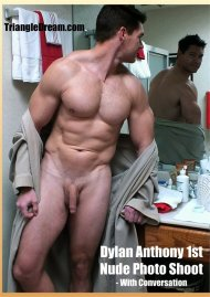 Dylan Anthony 1st Nude Photo Shoot - with Conversation Porn Video