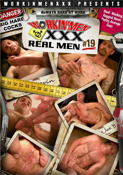 Real Men 19 Boxcover