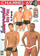 Interracial Gay Play 4-Pack Porn Movie