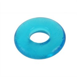 Ox Balls Do-nut 2 Large Cockring - Ice Blue Sex Toy
