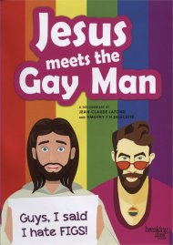 Jesus Meets the Gay Man gay cinema DVD from Breaking Glass Pictures.