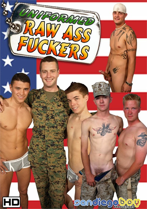 Uniformed Raw Ass Fuckers Boxcover