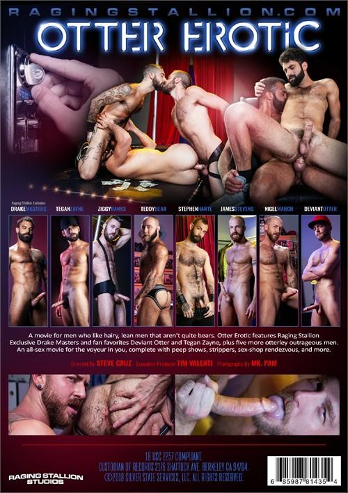 Otter Erotic Cover Back