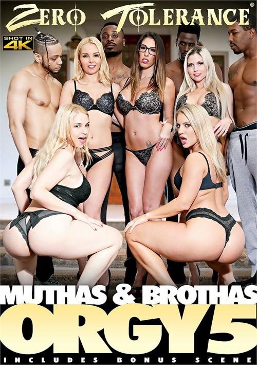 Muthas & Brothas Orgy 5 Mature All Sex Interracial