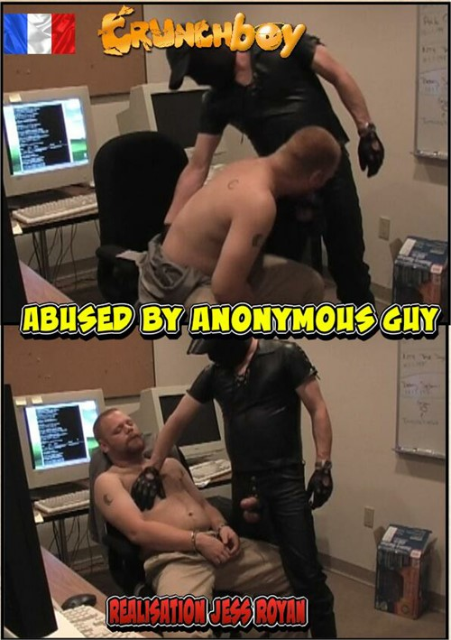 Abused by Anonymous Gay Boxcover