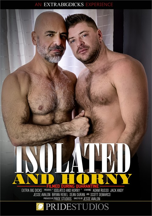 Isolated and Horny Cover Front
