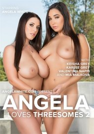 Angela Loves Threesomes 2 DVD porn movie from AGW Entertainment.