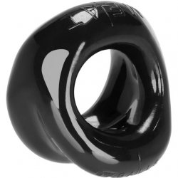 Ox Balls Meat Bigger Bulge Cockring - Black Sex Toy