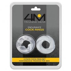 4M Endurance Cock Rings - 2 Pack Sex Toy