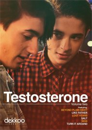 Testosterone: Volume Two gay cinema DVD from Dekkoo Films