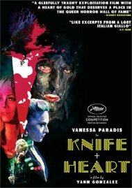 Knife + Heart gay cinema DVD from Altered Innocence.