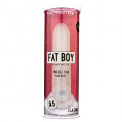 "Perfect Fit: Fat Boy 6.5"" - Micro Ribbed Sheath Sex Toy"