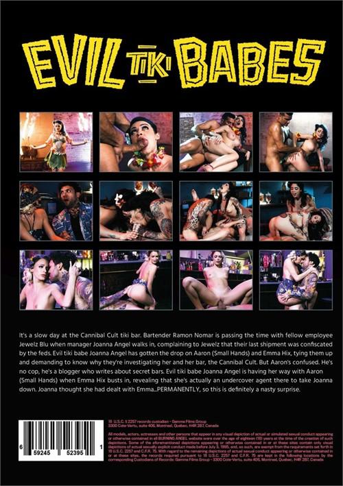 Back cover of Evil Tiki Babes