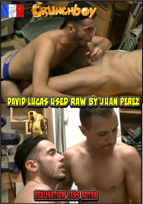 David Lucas Used Raw by Juan Perez Boxcover