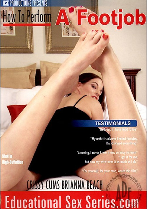 Really. Crissy cums foot fetish for the