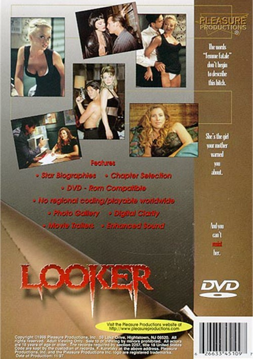Back cover of Looker