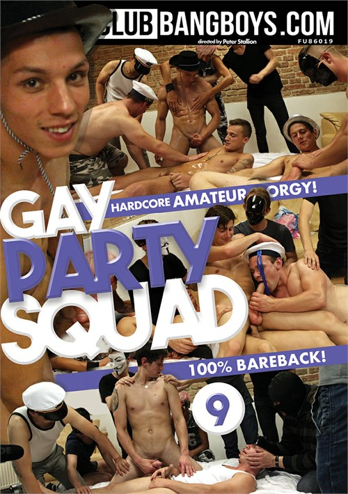 Gay Party Squad Vol. 9 Boxcover