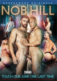 Nob Hill gay porn DVD from NakedSword Originals.