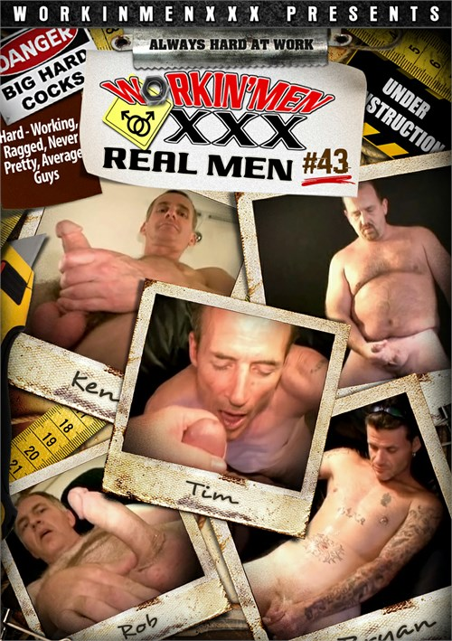 Real Men 43 Boxcover
