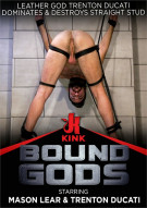 Leather God Trenton Ducati Dominates & Destroys Straight Stud  Boxcover