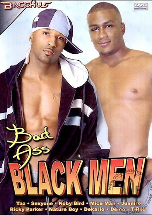 Bad Ass Black Men Boxcover