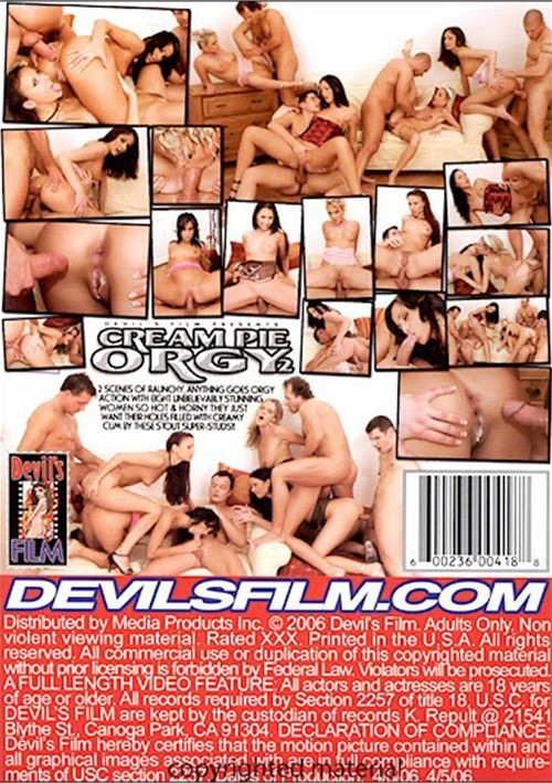 Cream pie orgy 2