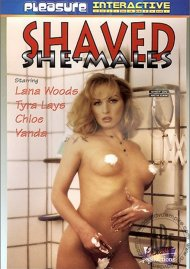 Shaved She-Males Porn Video