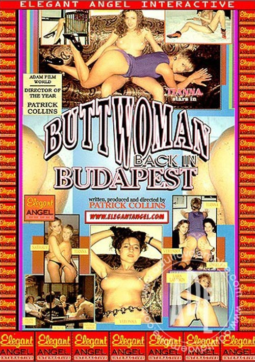 Buttwoman Back in Budapest Boxcover