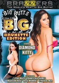 Big Butts Like It Big: Brunette Edition Porn Video