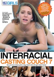 Interracial Casting Couch 7 HD porn video from Net Video Girls.
