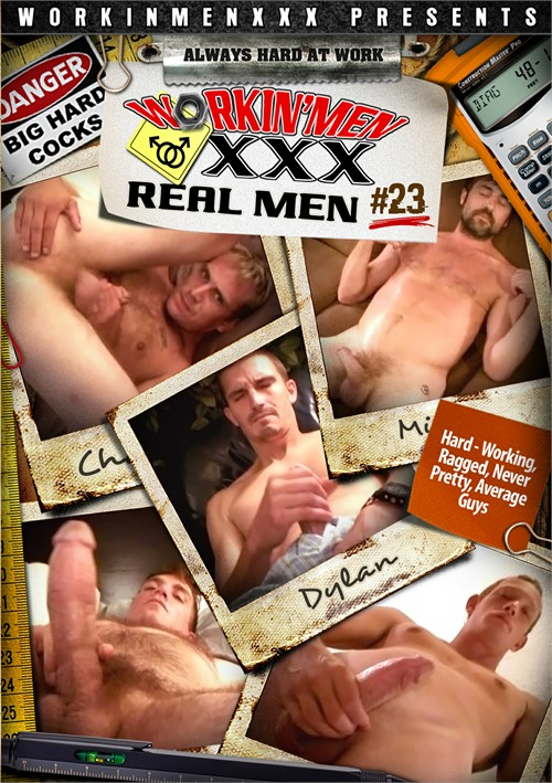 Real Men 23 Boxcover