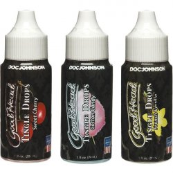 Goodhead Tingle Drops 3pk Asst Flavors Sex Toy