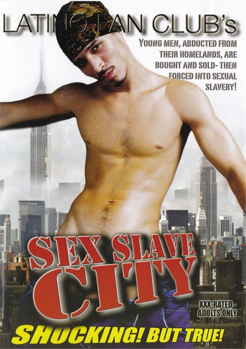 Sex Slave City Cover Front