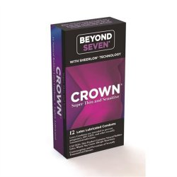 Beyond Seven: Crown Super Thin and Sensitive - 12 pk Sex Toy