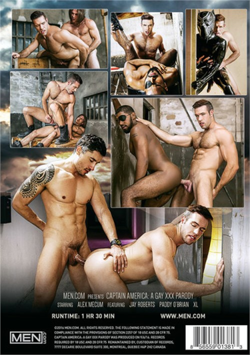Captain American A Gay XXX Parody Cover Front