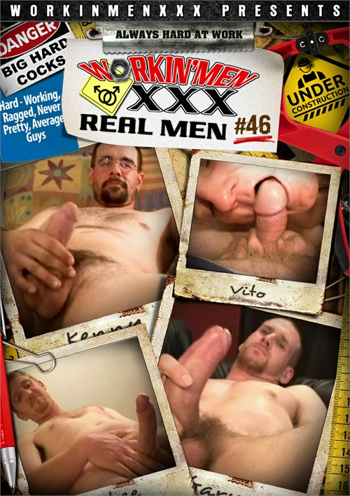 Real Men 46 Boxcover