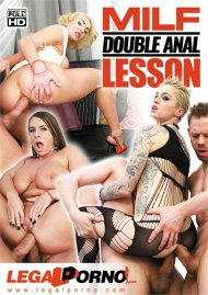 MILF Double Anal Lesson image