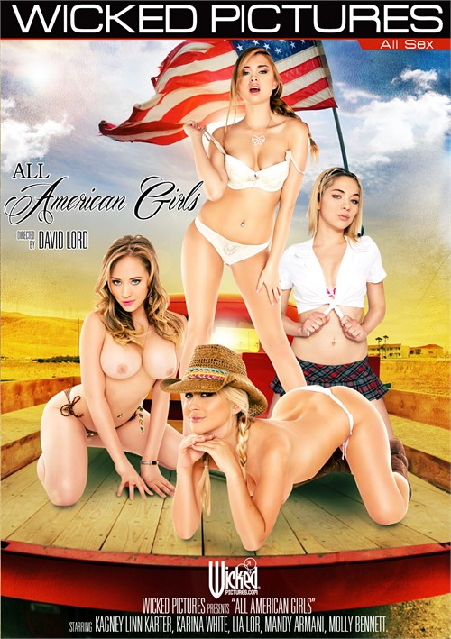 All American Girls Boxcover