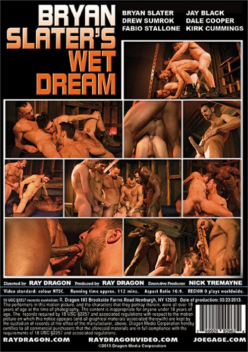 Bryan Slaters Wet Dream Cover Back