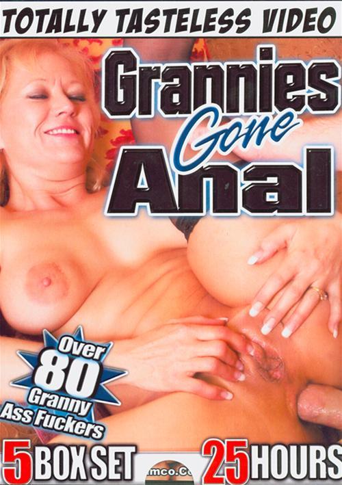 Gone anal grannys
