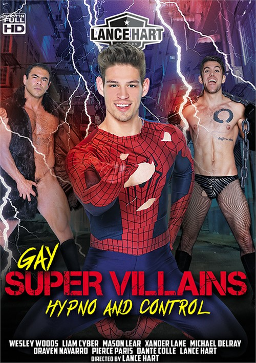 Gay Super Villains: Hypno and Control Boxcover