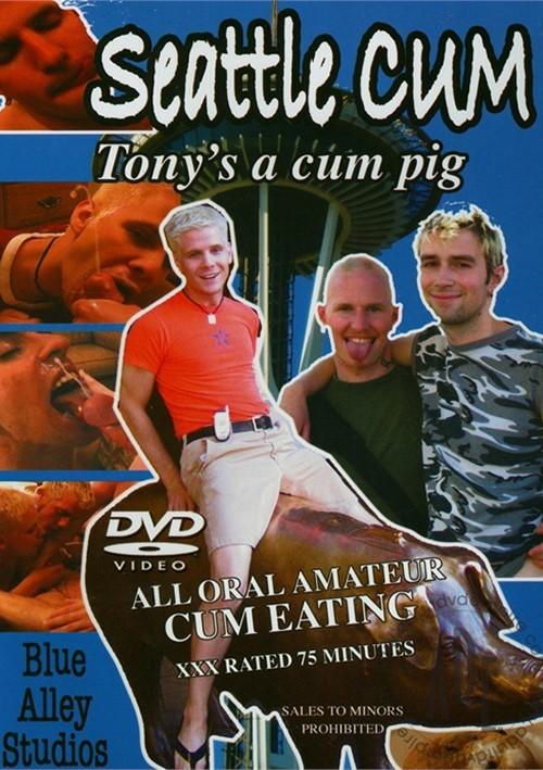 Seattle Cum: Tony's a Cum Pig Boxcover